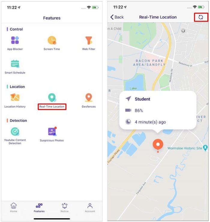 famisafe localisation Quelle est la meilleure app de localisation GPS pour surveiller votre enfant ?