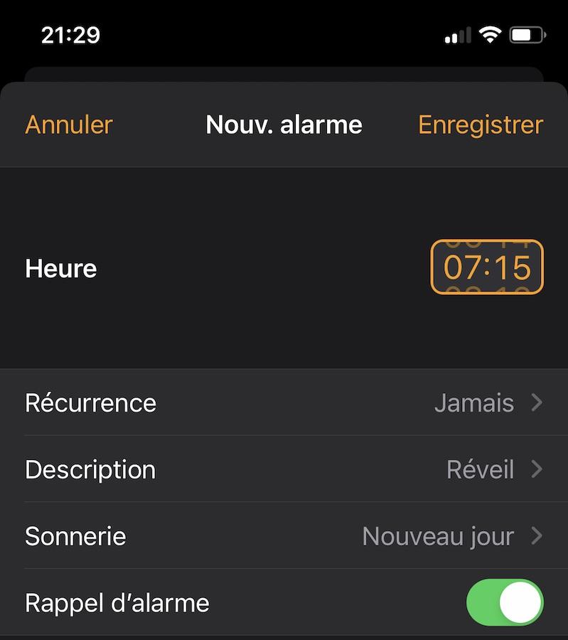 iOS 14 Beta 6 Horloge iOS 14 et iPadOS 14 bêta 6 : la liste des nouveautés