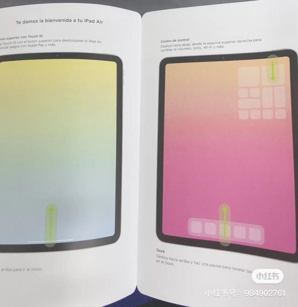 iPad Air 4 : une fuite montre un port USB C et Touch ID sur le bouton dallumage