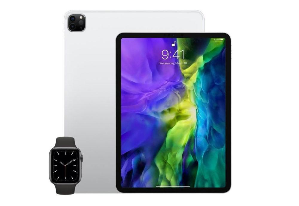 iPad et Apple Watch LApple Watch Series 6 et de nouveaux iPad apparaissent dans la base de données de lEEC