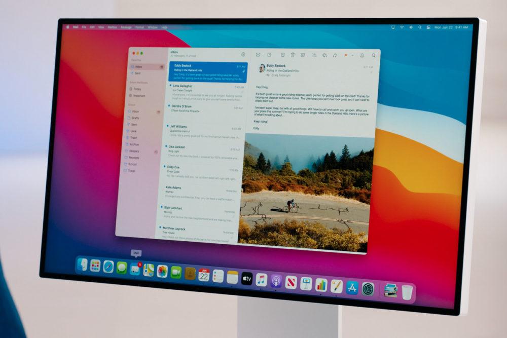 Apple propose au téléchargement la bêta 1 développeurs de macOS Big Sur 11.0.1