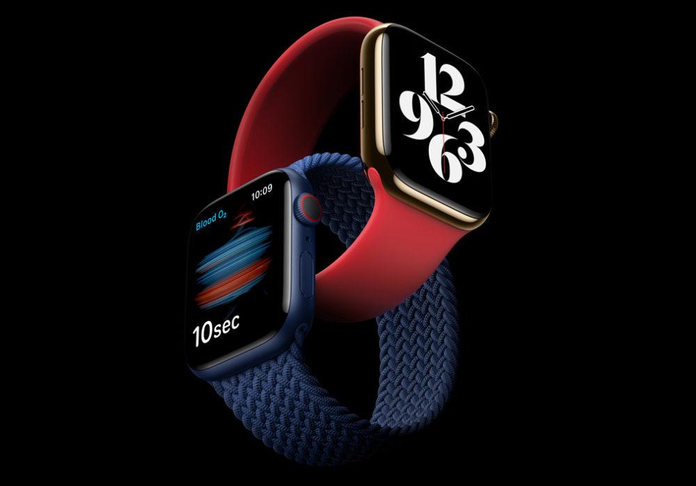 Apple Watch Series 6 Nouveaux Coloris Apple lève le voile sur lApple Watch Series 6 : nouvelles couleurs, mesure du taux doxygène dans le sang...