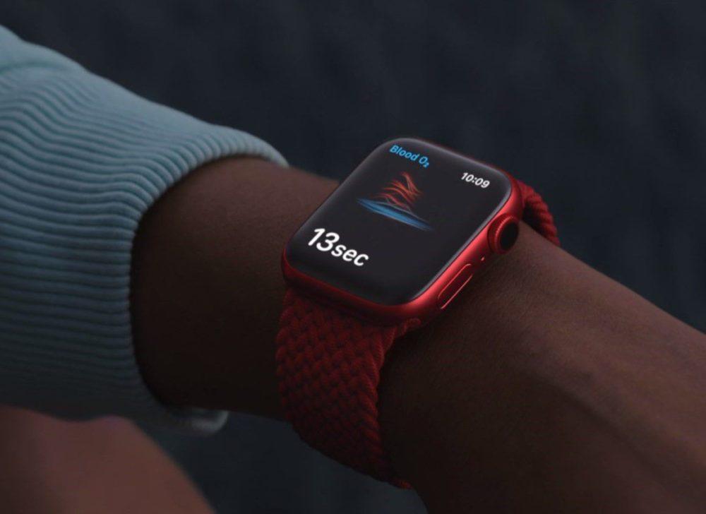 Apple Watch Series 6 Rouge Apple lance une étude qui vise à déterminer si Apple Watch peut détecter le COVID 19