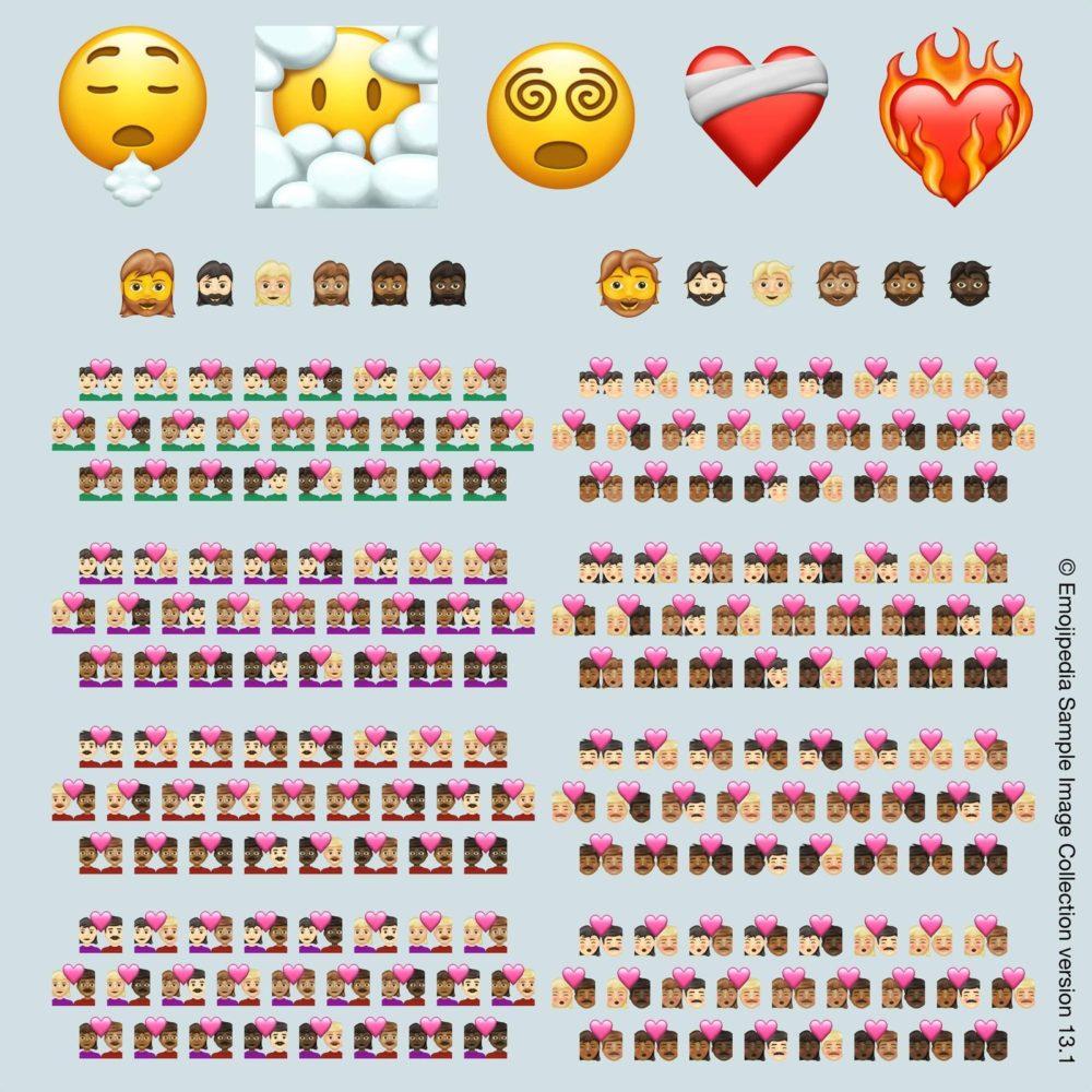 Emojipedia sample image collection 13 1 217 new emojis for 2021 Voici les 217 nouveaux Emojis qui arriveront sur iPhone, iPad et autres appareils en 2021