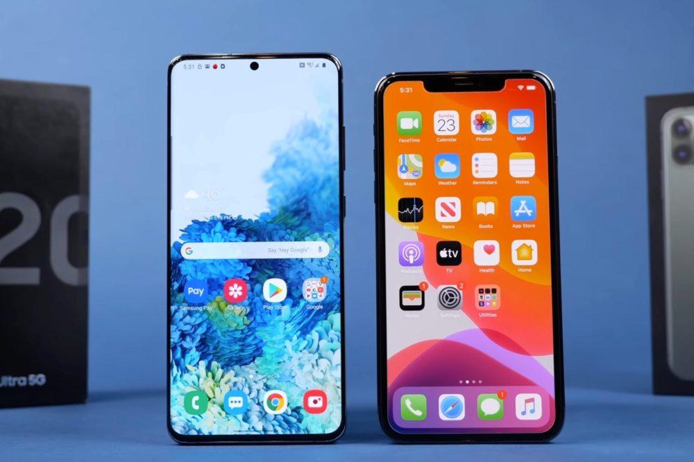Galaxy S20 Ultra et iPhone 11 Pro Max Au cours du 2e trimestre, Apple a devancé Huawei sur le marché de smartphones en Allemagne