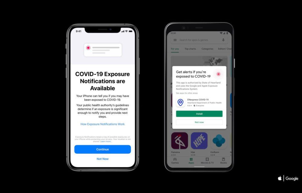 Le traçage des contacts directement intégré dans les smartphones — Covid