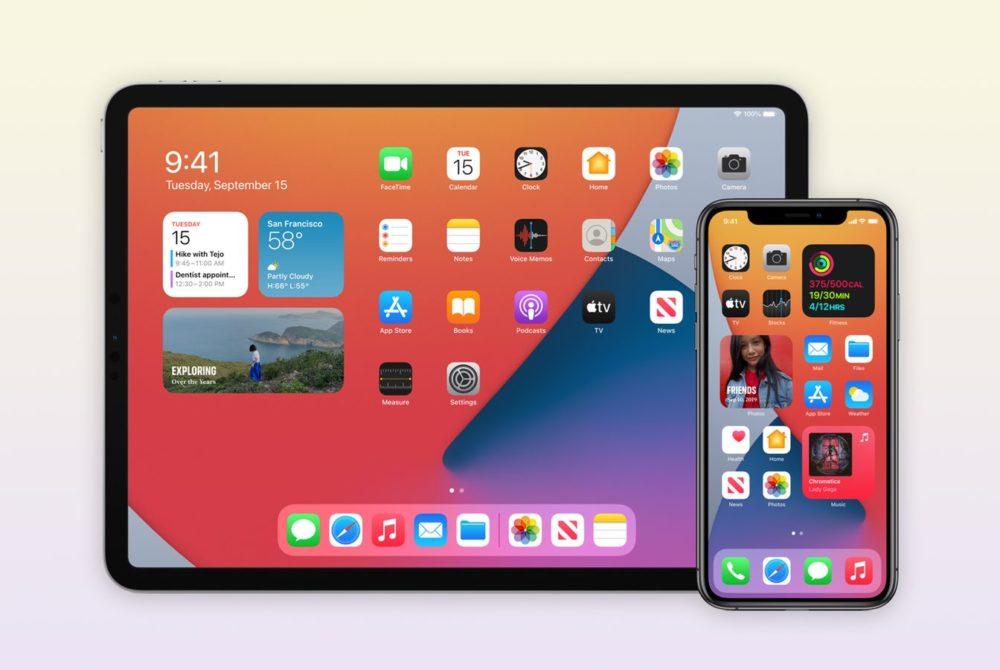 iOS 14 et iPadOS 14 iOS 14.2 et iPadOS 14.2 : Apple publie la bêta 1 publique