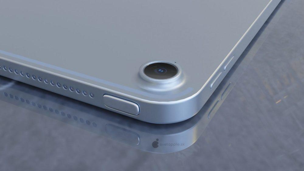 iPad Air 4 concept 2 Un concept présente le nouvel iPad Air 4 avec un design inspiré de liPad Pro 2018