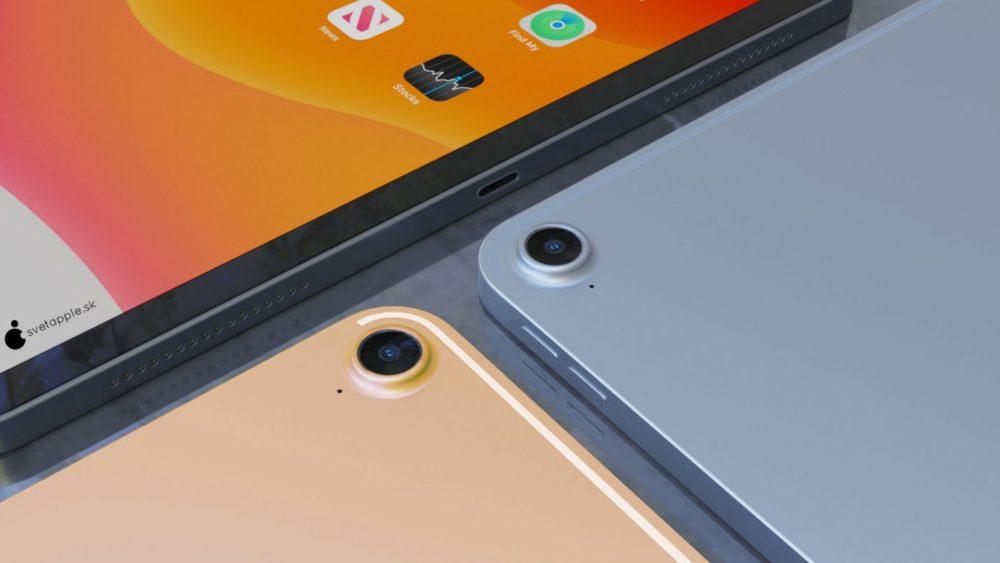iPad Air 4 concept 3 Un concept présente le nouvel iPad Air 4 avec un design inspiré de liPad Pro 2018