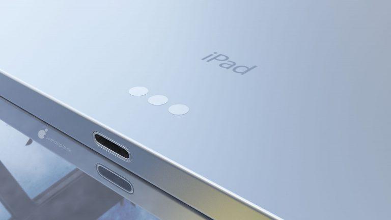 iPad Air 4 concept 6 Un concept présente le nouvel iPad Air 4 avec un design inspiré de liPad Pro 2018