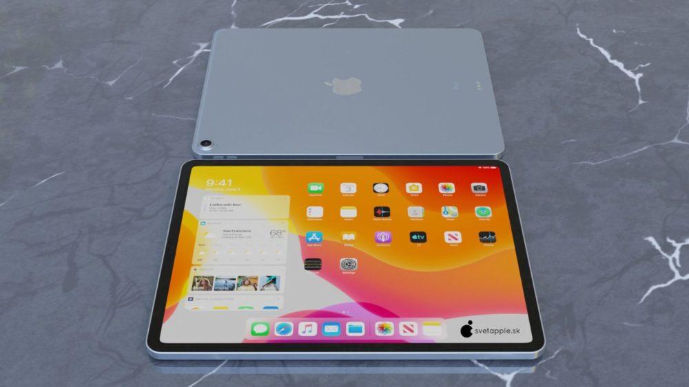 iPad Air 4 concept 7 Un concept présente le nouvel iPad Air 4 avec un design inspiré de liPad Pro 2018