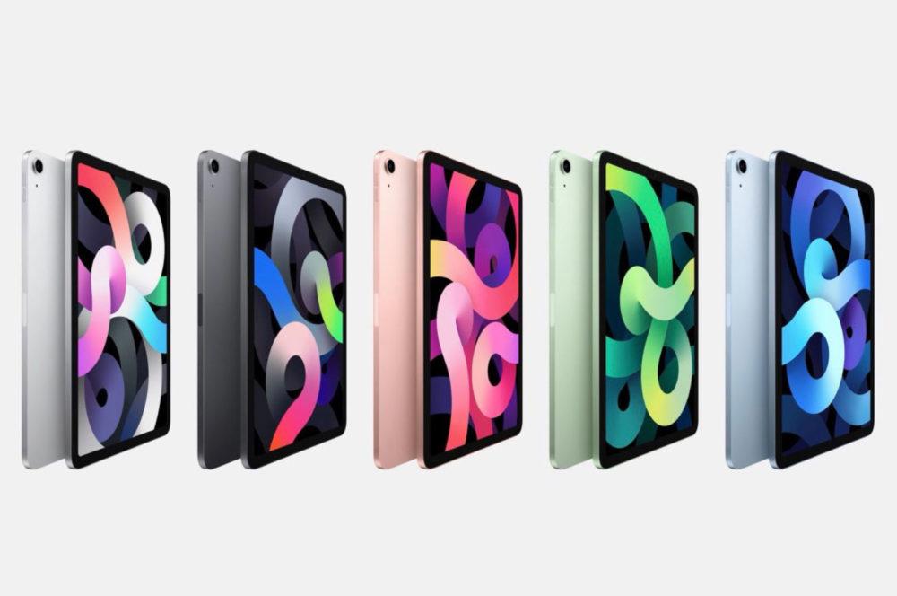 iPad Air 4 LiPad Air 4 est là : design de liPad Pro, pas de bouton Home, Touch ID sur le bouton ON/OFF...