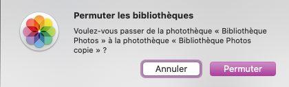 mac permuter bibliotheque Comment et pourquoi définir une photothèque système sur Mac