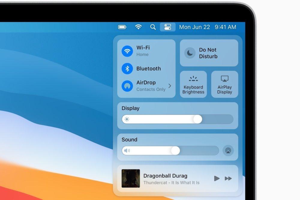 macOS Big Sur Ecran macOS Big Sur : Apple publie la bêta 3 publique