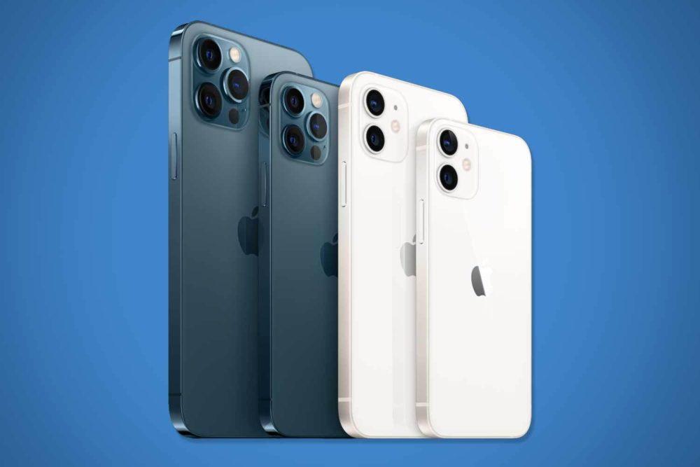 4 iPhone 12 Les iPhone 12 et 12 mini ont 4 Go de RAM et les iPhone 12 Pro et 12 Pro Max, 6 Go