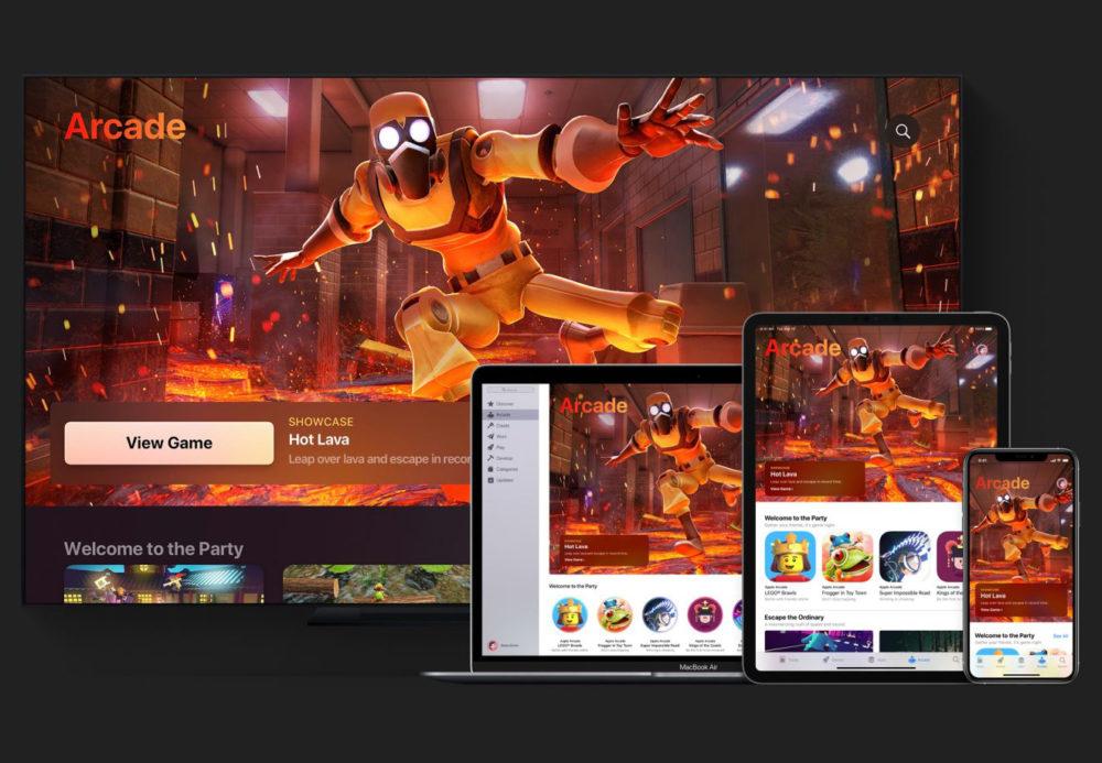 Apple Arcade Hot lava Apple Arcade : 3 mois offerts gratuitement lors de lachat dun produit Apple