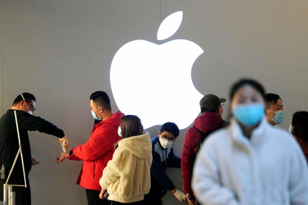 Apple Coronavirus Apple publie ses résultats financiers pour le Q4 2020 : baisse pour liPhone, hausse pour le Mac et liPad