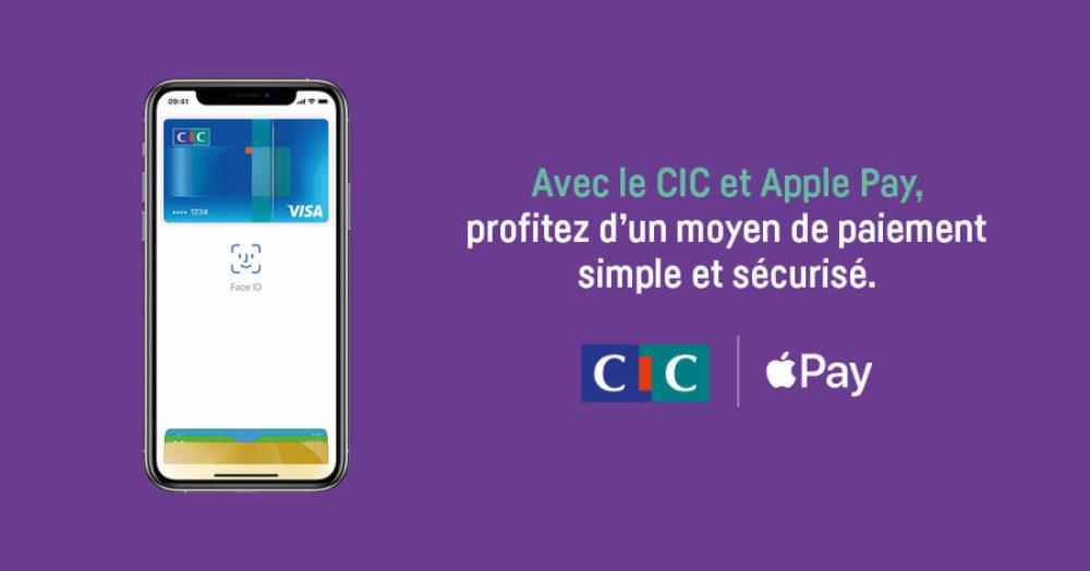 Apple Pay Cartes Visa CIC Apple Pay chez Crédit Mutuel et le CIC  : les cartes Visa désormais compatibles