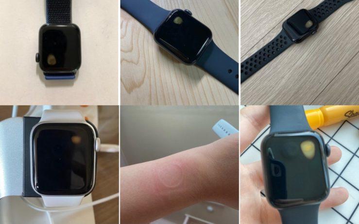 Apple Watch SE Surchauffe Ecran Avec Tache Jaune Certains utilisateurs avec une Apple Watch SE en Corée du Sud évoquent des problèmes de surchauffe