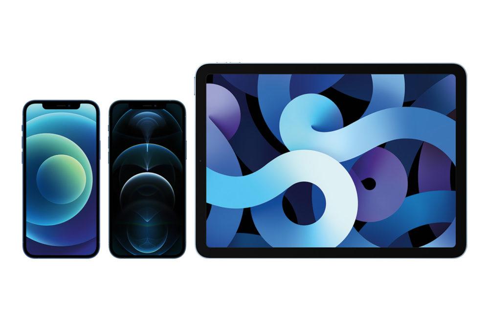 Apple iPad Air iPhone 12 Pro iPhone 12 LiPhone 12, liPhone 12 Pro et liPad Air 4 sont disponibles à lachat