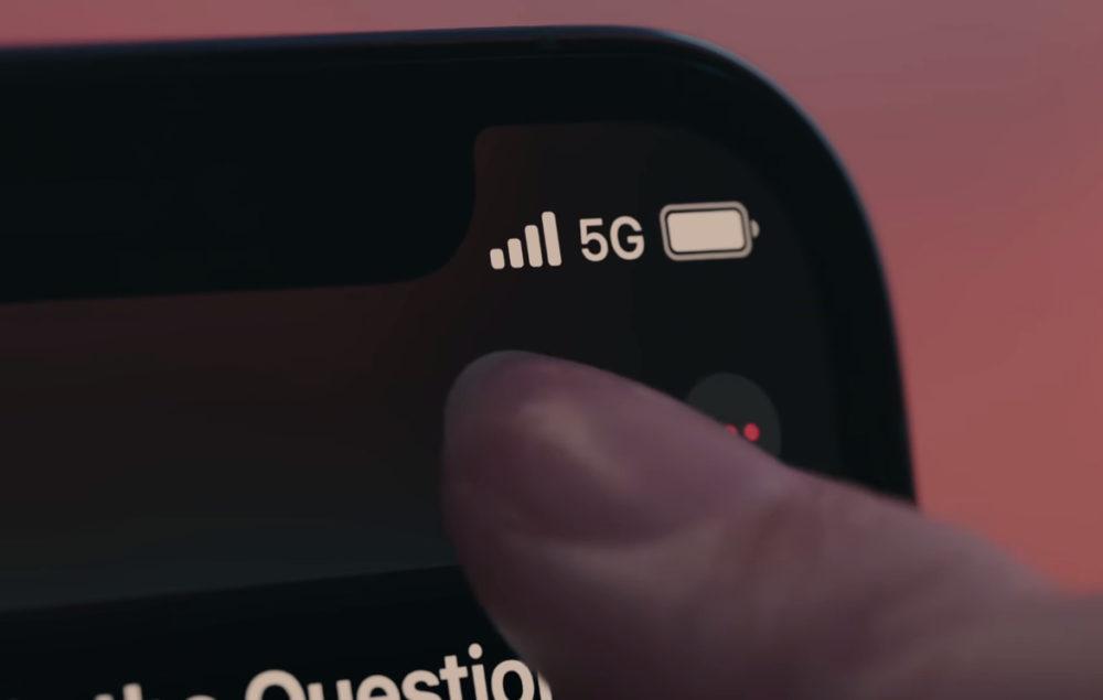 Apple iPhone 12 5G Logo 5G sur iPhone 12 : si vous êtes en France, vous allez devoir patienter quelques semaines