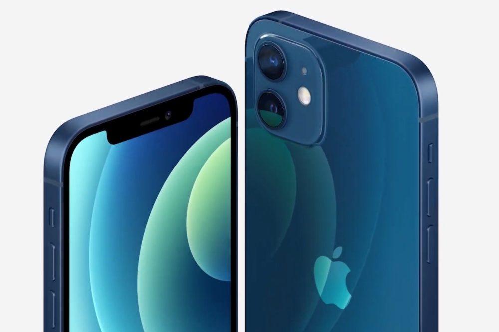 Apple iPhone 12 Bleu En France, les iPhone 12 sont livrés avec des écouteurs