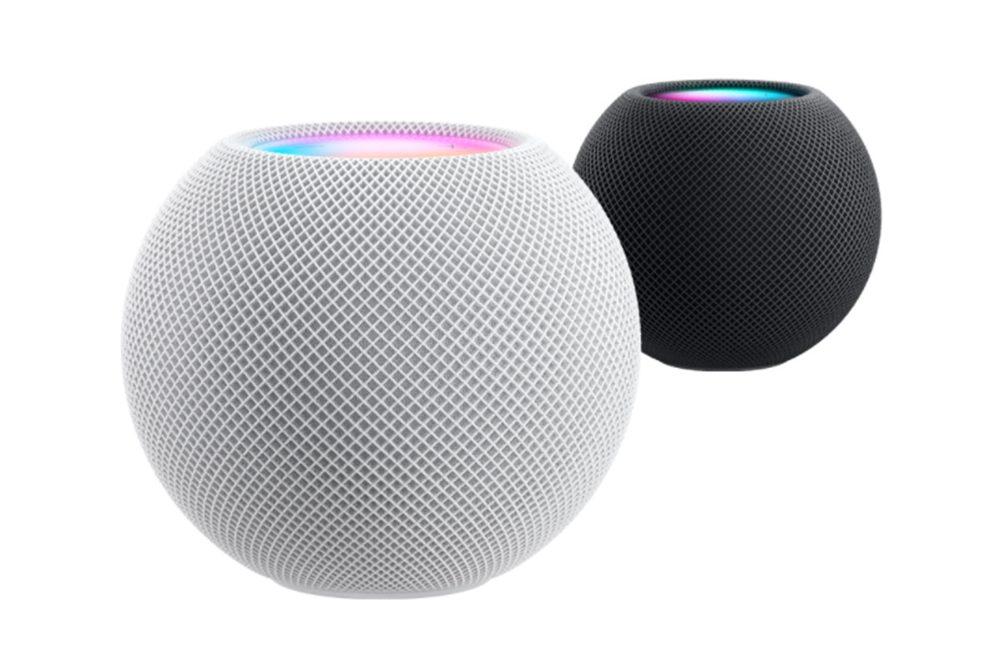 HomePod mini Apple Coloris HomePod mini : un mini haut parleur intelligent avec de nouvelles fonctionnalités Siri pour 99 dollars