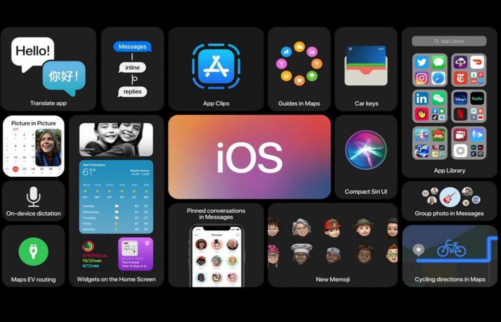 iOS 14 Nouveautes iOS 14 a un taux dadoption de 46,71% et est plus installé quiOS 13
