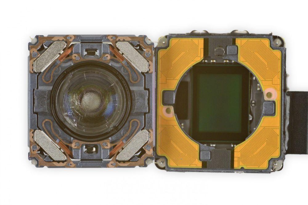 iPhone 12 Cameras Vue Interne Un outil d'Apple est nécessaire pour réparer l'appareil photo des iPhone 12
