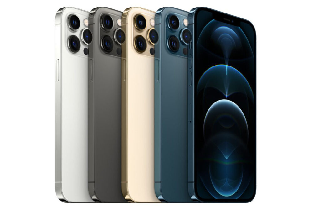 iPhone 12 Pro Coloris iPhone 12 : si vous utilisez la double SIM, vous ne pourrez pas jouir de la 5G