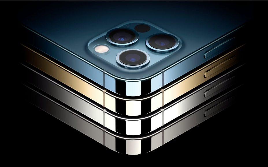 iPhone 12 Pro iPhone 12 Pro Max Coloris iPhone 12 Pro et 12 Pro Max : 5G, design similaire à liPad Pro, Dolby Vision, 3 caméras, LiDAR, puce A14...