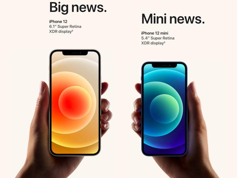 iPhone 12 iPhone 12 Mini 2 iPhone 12 et iPhone 12 mini : 5G, design proche de liPhone 4, 2 caméras, verre plus résistant et plus