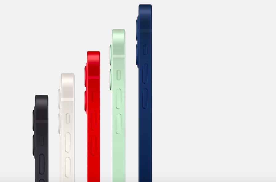 iPhone 12 iPhone 12 Mini Coloris iPhone 12 et iPhone 12 mini : 5G, design proche de liPhone 4, 2 caméras, verre plus résistant et plus