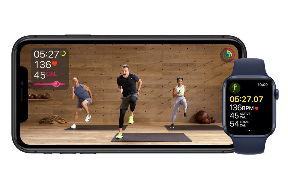 Apple Fitness Apple Fitness+ : le Californien propose une page dédiée sur son site français