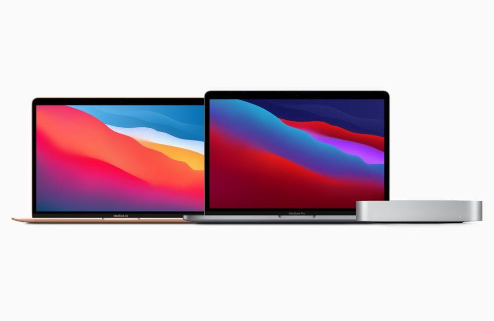 Apple Mac MacBook Air MacBook Pro Mac mini Apple propose à lachat les MacBook Air, MacBook Pro et Mac mini dotés de la puce M1