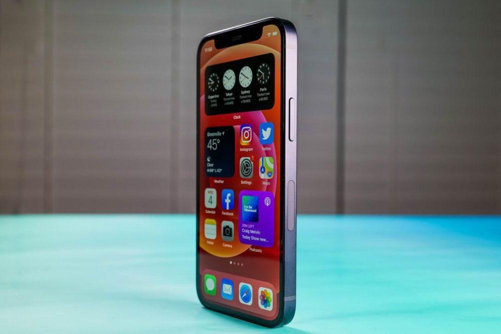 Apple iPhone 12 mini iPhone 12 mini : certains utilisateurs rencontrent des soucis avec lécran de verrouillage