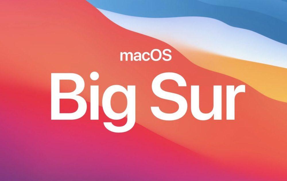 Apple macOS Big Sur macOS 11.1 Release Candidate est disponible au téléchargement