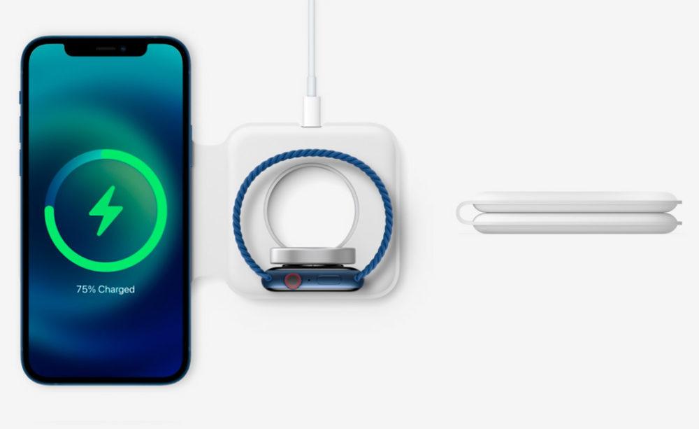 Chargeur MagSafe Duo MagSafe Duo : le chargeur est vendu à 149 euros par Apple en France