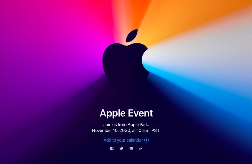 Keynote Apple 10 Novembre 2020 One More Thing : Apple vient dannoncer une keynote pour le 10 novembre prochain