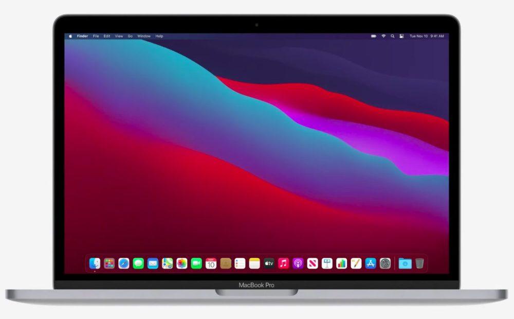 MacBook Pro Apple M1 Le MacBook Pro 13 pouces doté de la puce M1 est là : performances plus élevées et meilleure autonomie