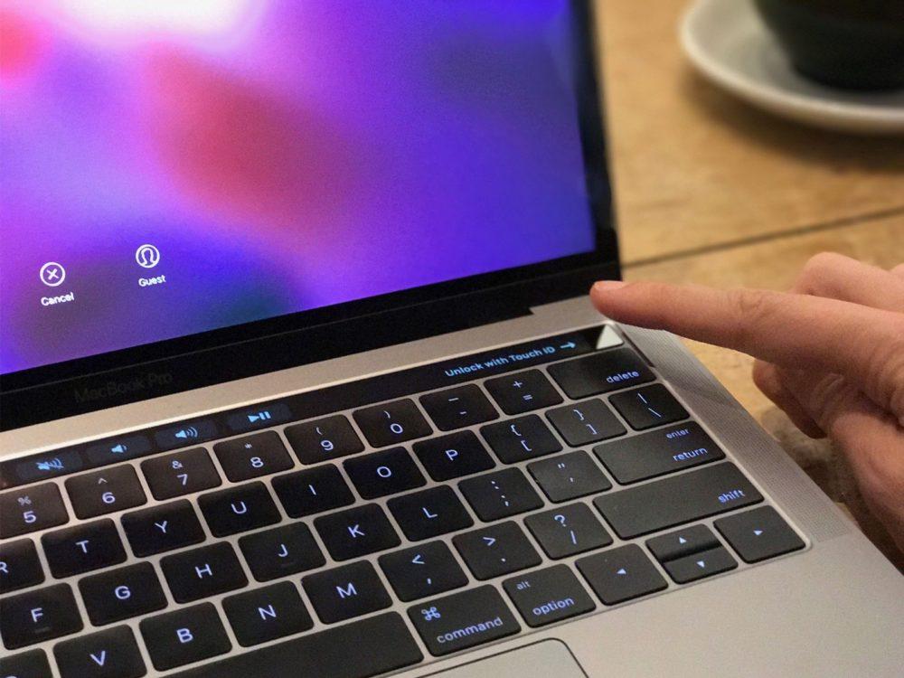 MacBook Pro Touch ID Touch ID ne fonctionne plus sur certains MacBook équipés de macOS Big Sur