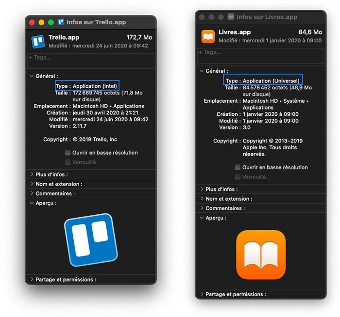 apple silicon m1 app optimisee lire informations Apple Silicon : reconnaître les apps Mac compatibles et optimisées avec les puces M1