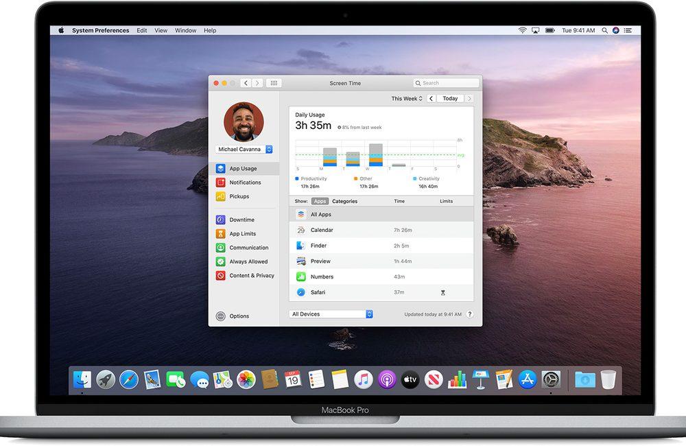 controle parental temps ecran macos Comment activer et configurer le contrôle parental Temps d'écran inclut dans macOS