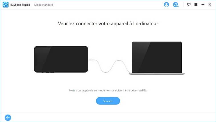 fix guide 23 Solution : iPhone écran noir ou bloqué en mode Recovery