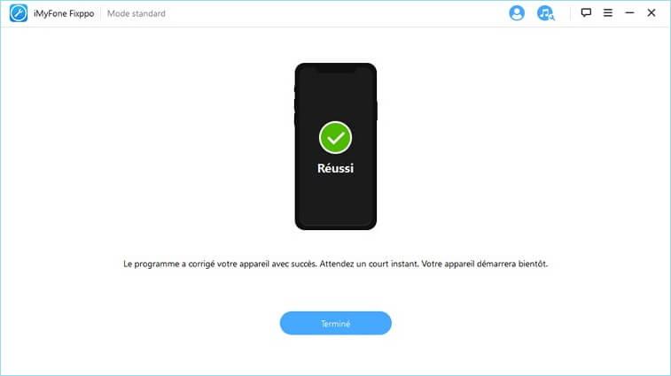 fix guide 9 Solution : iPhone écran noir ou bloqué en mode Recovery