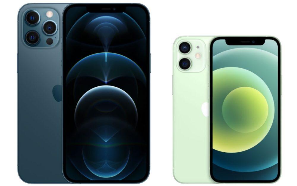 iPhone 12 mini et iPhone 12 Pro Max 1 Les prix de réparation des iPhone 12 mini et des iPhone 12 Pro Max sont dévoilés par Apple