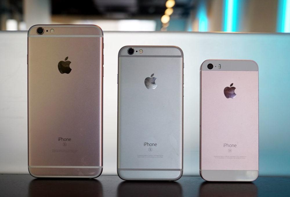 iPhone 6s Plus iPhone 6s iPhone SE Apple abandonnera le support de liPhone 6s et de liPhone SE (1re gén) avec iOS 15