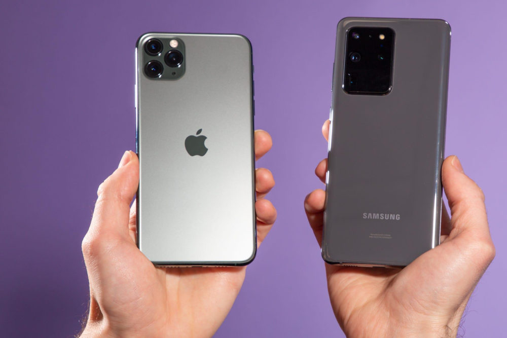 iPhone Samsung Galaxy S20 Apple a vendu plus de smartphones que Samsung au quatrième trimestre de 2020