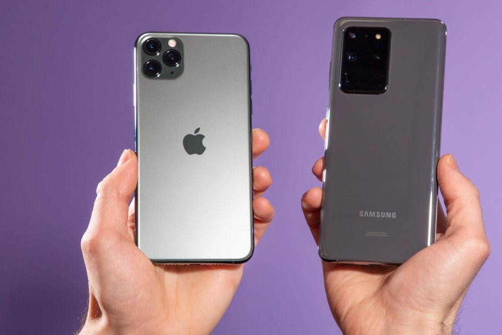 iPhone Samsung Galaxy S20 Ventes de smartphones : Apple est devancé par Xiaomi au Q3 2020