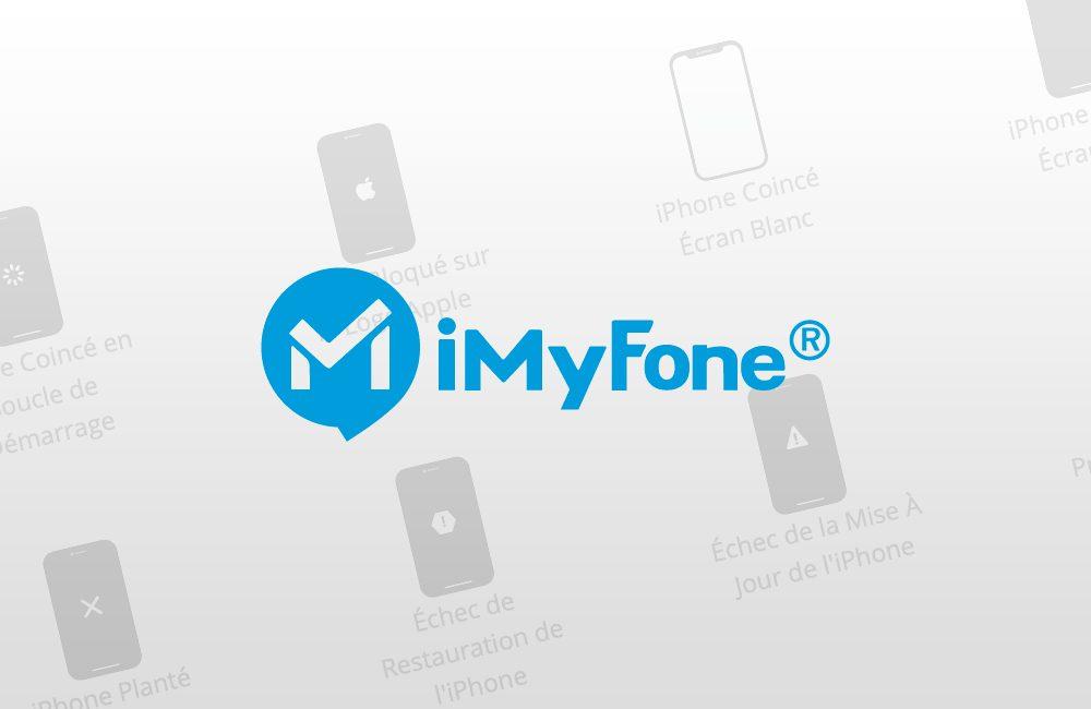 imyfone Solution : iPhone écran noir ou bloqué en mode Recovery